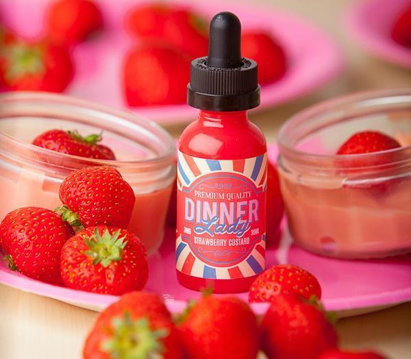 Strawberry Custard by Dinner Lady